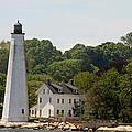 New London Harbor Lighthouse by Christiane Schulze Art And Photography
