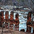 New Manchester Manufacturing Company Ruins by Tara Potts
