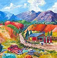New Mexico Colors by Judy Hopkins