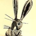 New Mexico Rabbit Light Sepia by Rob Hans