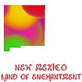New Mexico State Map Collection 2 by Andee Design