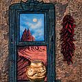 New Mexico Window Gold by Ricardo Chavez-Mendez