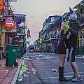 New Orleans After The Party by John McGraw