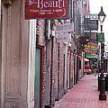 New Orleans - Bourbon Street 3 by Frank Romeo