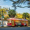 New Orleans - Canal St Streetcar 2 by Steve Harrington