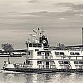 New Orleans Ferry Bw by Steve Harrington
