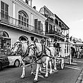 New Orleans Funeral Monochrome by Steve Harrington