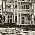 New Orleans Home - Paint Sepia by Steve Harrington