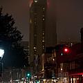 New Orleans Market District At Night by Lara Eichenwald