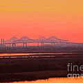 New Orleans Mississippi Bridge by Luana K Perez