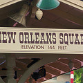 New Orleans Signage Disneyland by Thomas Woolworth