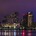 New Orleans Skyline by David Morefield