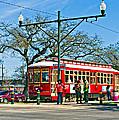 New Orleans Streetcar by Steve Harrington