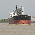 New Orleans Visitior On The Mississippi by JG Thompson
