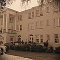 New Perry Hotel In Sepia by Gordon Elwell