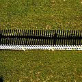 New Perspective Of The Picket Fence by Tara Potts