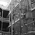 New Photographic Art Print For Sale Bradbury Building 7 Downtown La by Toula Mavridou-Messer