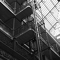 New Photographic Art Print For Sale Bradbury Building 9 Downtown La by Toula Mavridou-Messer