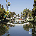 New Photographic Art Print For Sale Canals Of Venice California by Toula Mavridou-Messer