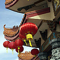 New Photographic Art Print For Sale Downtown Chinatown by Toula Mavridou-Messer