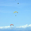 New Photographic Art Print For Sale Hanggliding 11 by Toula Mavridou-Messer
