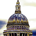 New Photographic Art Print For Sale   Iconic London St Paul's Cathedral by Toula Mavridou-Messer