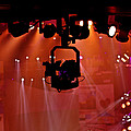 New Photographic Art Print For Sale Lights Camera Action Backstage At The American Music Award by Toula Mavridou-Messer
