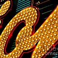 New Photographic Art Print For Sale Original Binions Las Vegas Neon by Toula Mavridou-Messer