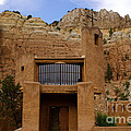 New Photographic Art Print For Sale The Benedictine Abbey Of Christ In The Desert New Mexico by Toula Mavridou-Messer