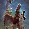 New Pillars Of Creation Hd Tall by Adam Romanowicz