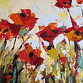 New Poppies by Yvonne Ankerman