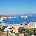New Port Corfu by George Katechis