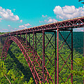 New River Gorge by Michael J Samuels