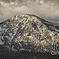 New Snow On Maggie's Peak by Mitch Shindelbower
