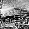 Minnesota Vikings U S Bank Stadium Under Construction by Jim Hughes