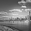 New World Trade Center Bw by Susan Candelario