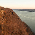 New Year's Dawn At Englewood Cliffs by Gregory Andrus