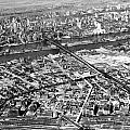 New York 1937 Aerial View  by Underwood Archives
