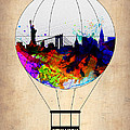 New York Air Balloon by Naxart Studio