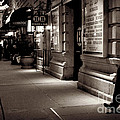 New York At Night - The Phone Call - Theatre District by Miriam Danar