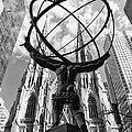 New York - Atlas Statue by Nino Marcutti
