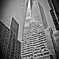 New York - B And W Hdr Bank Of America by Amador Esquiu Marques