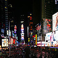 New York - Broadway And Times Square by Randy Smith
