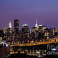 New York By Night by Agnes Caruso