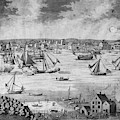 New York City, 1717 by Granger