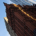 New York City - An Angled View Of The Potter Building At Sunrise by Georgia Mizuleva