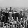 New York City Black And White by Debra Forand