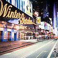 New York City - Broadway Lights And Times Square by Vivienne Gucwa