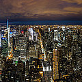 New York City By Night by Mihai Andritoiu
