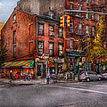 New York - City - Corner Of One Way And This Way by Mike Savad